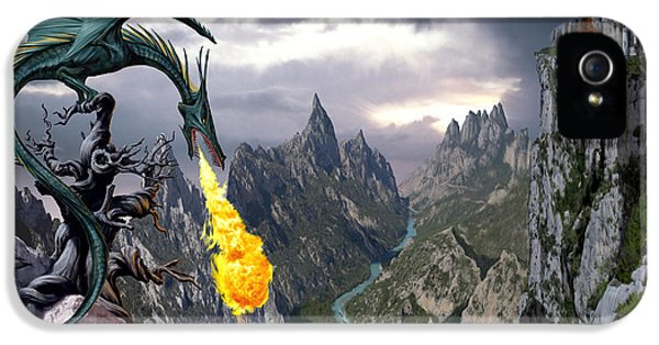 Fantasy iPhone 5 Case - Dragon Valley by The Dragon Chronicles - Garry Wa