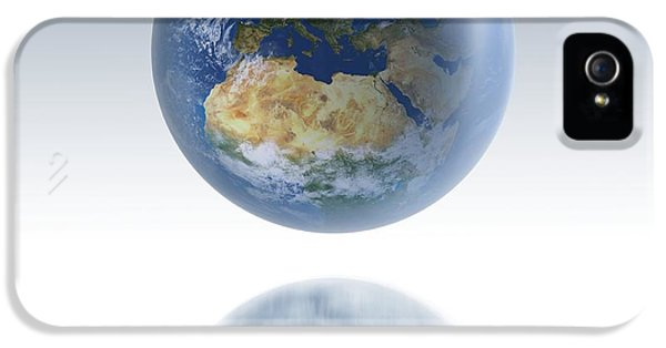 Earth Globe, Artwork IPhone 5 Case