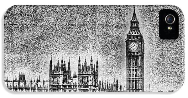 London iPhone 5 Case - Edit Of The Day, #editeoftheday #london by Abdelrahman Alawwad