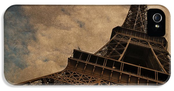 Eiffel Tower 2 IPhone 5 Case by Mary Machare