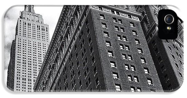 Empire State Building - New York City IPhone 5 Case