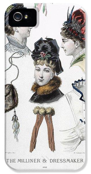 Fashion: Hats, C1875 IPhone 5 Case