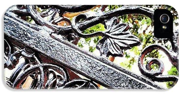 #fence #gate #decorative #ornamental IPhone 5 Case