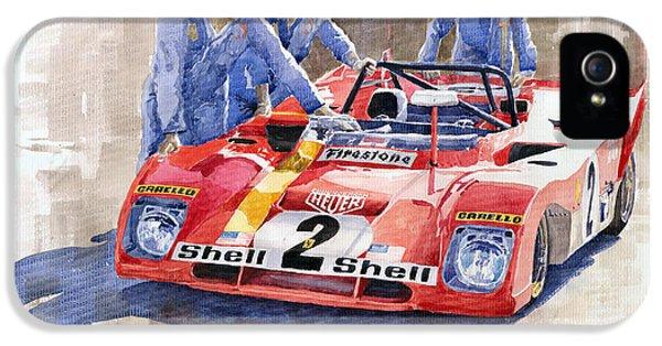 Ferrari 312 Pb 1972 Daytona 6-hour Winning IPhone 5 Case