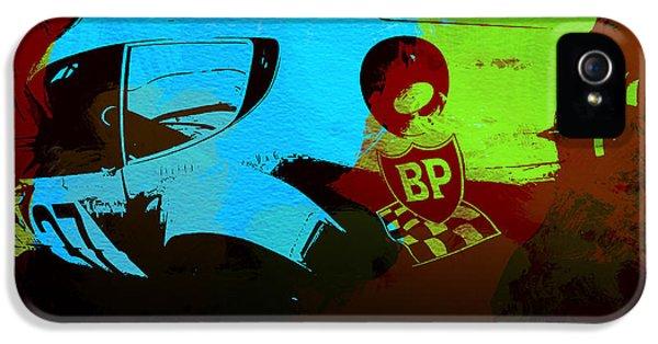 Ferrari  Watercolors IPhone 5 Case by Naxart Studio