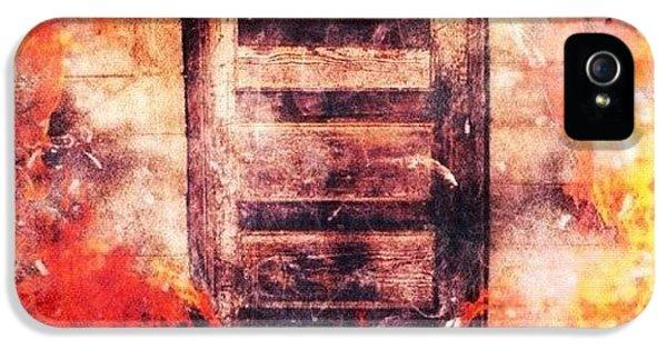 Edit iPhone 5 Case - Fire Escape by Mari Posa