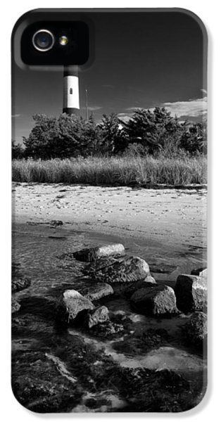 Fire Island In Black And White IPhone 5 Case