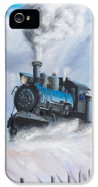 First Train Through IPhone 5 Case by Christopher Jenkins