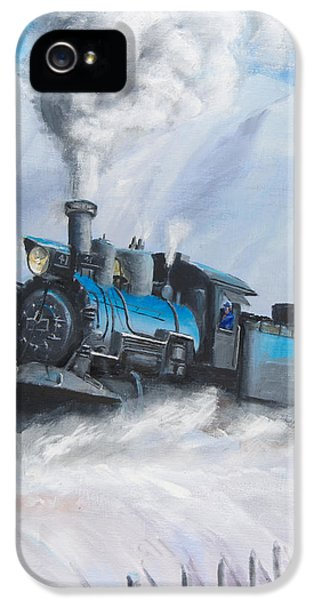 First Train Through IPhone 5 / 5s Case by Christopher Jenkins