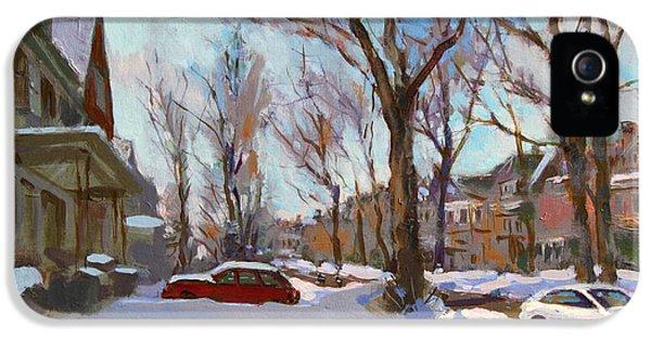 Fresh Snow IPhone 5 Case by Ylli Haruni