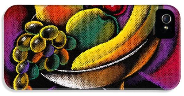Fruits IPhone 5 Case by Leon Zernitsky
