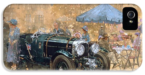 Garden Party With The Bentley IPhone 5 Case by Peter Miller