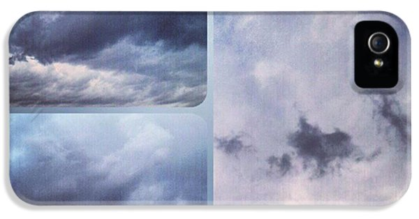 Sky iPhone 5 Case - God Is The Ultimate Painter... #nature by Kel Hill
