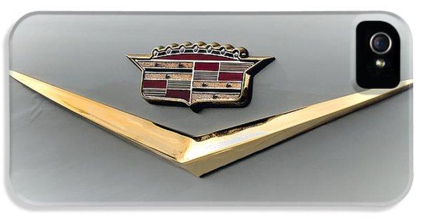Gold Badge Cadillac IPhone 5 Case