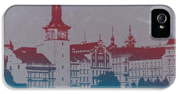 Golden Prague IPhone 5 Case