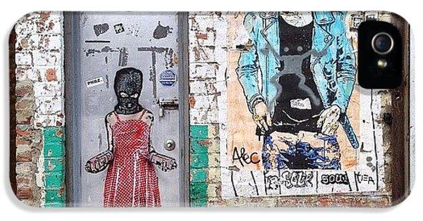 Summer iPhone 5 Case - Graffiti Artist by Randy Lemoine