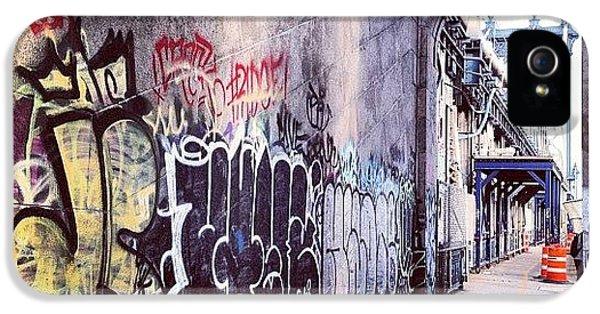 Summer iPhone 5 Case - Graffiti Bridge by Randy Lemoine