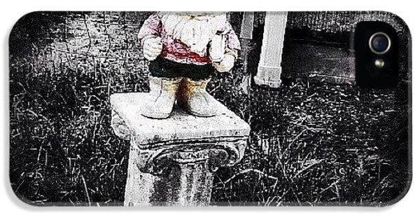 Ohio iPhone 5 Case - Greenville's Garden Gnome by Natasha Marco