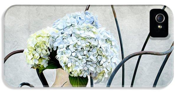 Hortensia Flowers IPhone 5 Case