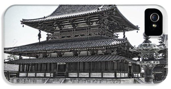 Horyu-ji Temple Golden Hall - Nara Japan IPhone 5 Case