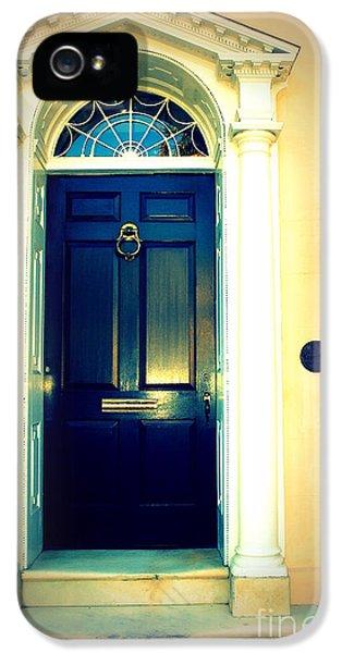 House Door 1 In Charleston Sc  IPhone 5 Case by Susanne Van Hulst