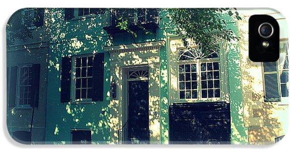 House Door 9 In Charleston Sc  IPhone 5 Case by Susanne Van Hulst