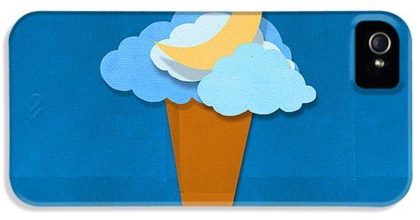 Ice Cream Design On Hand Made Paper IPhone 5 Case by Setsiri Silapasuwanchai