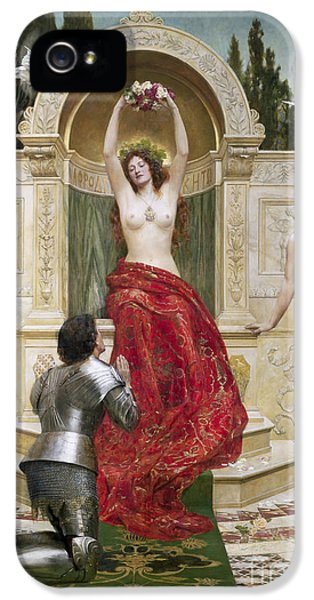 In The Venusburg IPhone 5 Case by John Collier