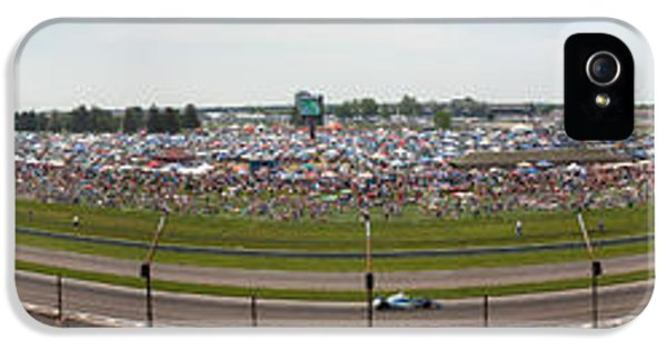 Indianapolis Race Track IPhone 5 Case by Semmick Photo
