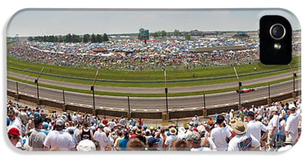 Indy 500  Race Day IPhone 5 Case by Semmick Photo