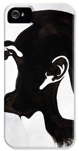 J. Cole IPhone 5 Case by Michael Ringwalt