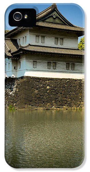 Japan Castle IPhone 5 Case by Sebastian Musial