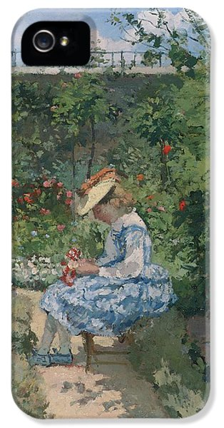 Jeanne In The Garden IPhone 5 Case