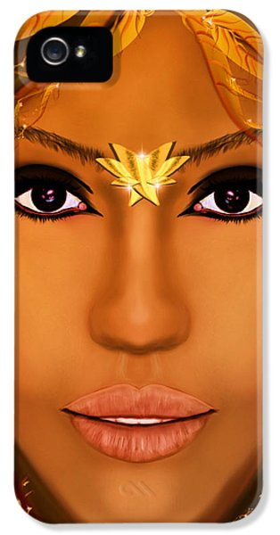 Jessica Alba Fairy Tale IPhone 5 Case by Mathieu Lalonde