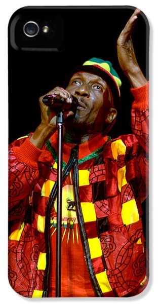 Jeff Ross iPhone 5 Cases - Jimmy Cliff iPhone 5 Case by Jeff Ross