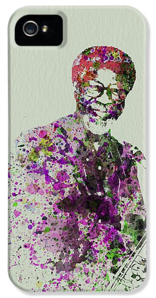 Saxophone iPhone 5 Case - Joe Henderson Watercolor  by Naxart Studio