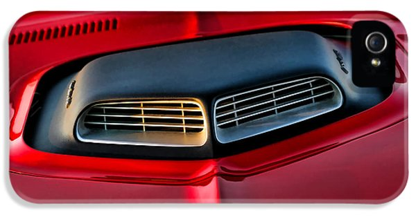 Breathe iPhone 5 Case - Just Breathe - 1971 Plymouth Hemicuda by Gordon Dean II