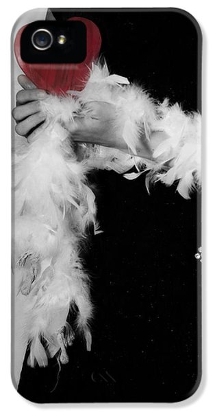 Lady With Heart IPhone 5 / 5s Case by Joana Kruse