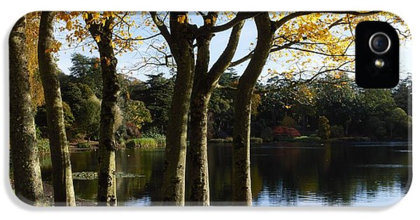 Lake And Trees, Mount Stewart, Co Down IPhone 5 Case by The Irish Image Collection