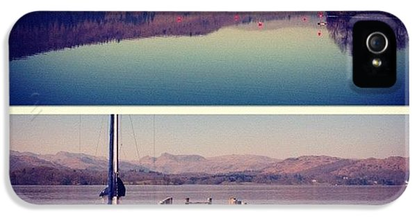 London2012 iPhone 5 Case - Lake Windermere #manc #manchester by Conor Duffy