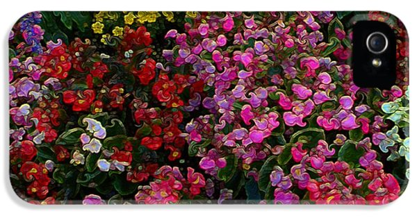 les fleurs II IPhone 5 Case by Terence Morrissey