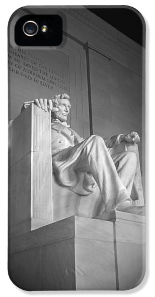 Lincoln Memorial  IPhone 5 Case by Mike McGlothlen