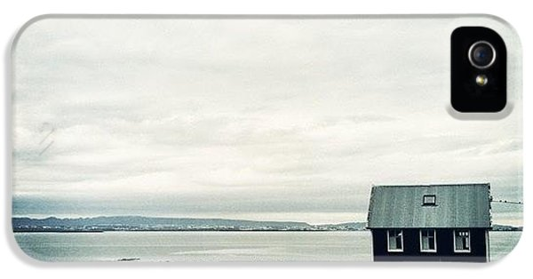 House iPhone 5 Case - Little Black House By The Sea by Luke Kingma
