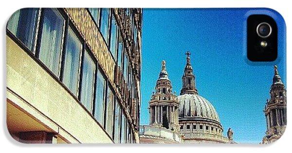London - #greatbritain #london #uk IPhone 5 Case
