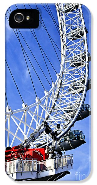 London Eye IPhone 5 Case by Elena Elisseeva