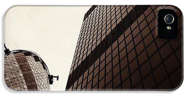 London iPhone 5 Case - #london #gherkin#building #architecture by Ozan Goren