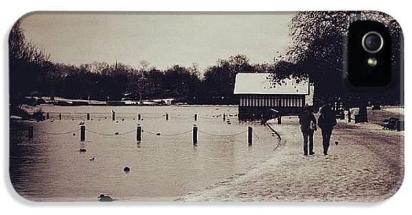 London iPhone 5 Case - #london #hydepark by Ozan Goren