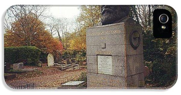 London iPhone 5 Case - #london #karlmarx #marx #communist by Ozan Goren