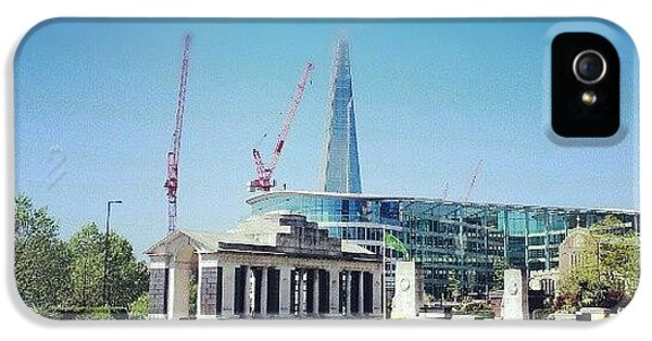 London iPhone 5 Case - #london #uk #westminster #building by Abdelrahman Alawwad