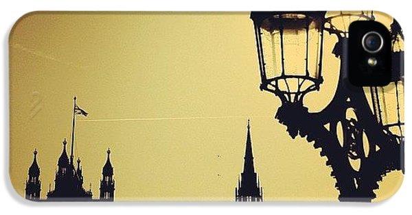 London iPhone 5 Case - #london #westminster #londoneye #siluet by Ozan Goren